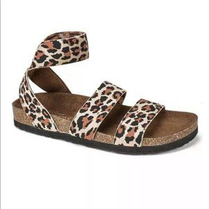 WHITE MOUNTAIN Footbeds Leopard Harlequin Size 6